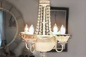 diy chandelier ideas and project tutorials tea cup chandelier easy makeover tips rustic