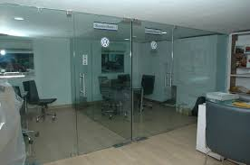 glass door office. clear customized office glass door indiamart