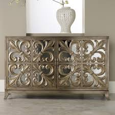 mirrored furniture toronto. hooker furniture mlange metallic fleurdelis mirrored credenza toronto o