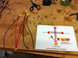 how to connect escs to one lipo battery make a power how to connect 4 escs to one lipo battery make a power distribution board com