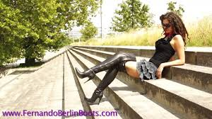 Mature heels leather mov