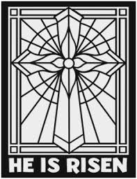 stained glass cross coloring page. Unique Glass Stained Glass Cross Coloring Pages Great These Religious Christmas  Depict Some Of To Page O