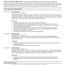 ... Medical Office Resumes No Experience Reception Back Assistant Examples  Administrative Unusual Resume Samples 1224 ...