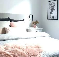 rose bedroom ideas blush best light pink bedding on gold decor room and gray idea