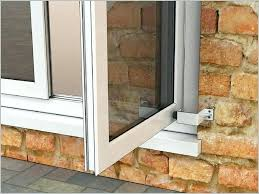 patio door stopper image of perfect glass door curtains patio french patio outswing french door stops