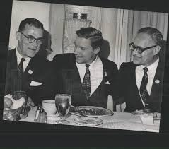 1966 Press Photo Albert Jenner,Charles Percy and Ted Fields | Historic  Images