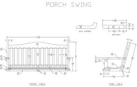 Small Picture Learn How to Build a Wooden Porch Swing Free Woodworking Plans