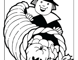 Pilgrim Girl Coloring Page Feat Pilgrim Boy And Girl Coloring Pages