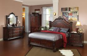King Bed Bedroom Set Bedroom Furniture Set 109 W Arched Headboard Queen Bed King Bed