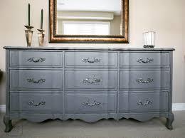 Grey Chalk Paint Furniture Gold — JESSICA Color Grey Chalk Paint