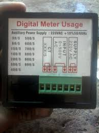 digital multi voltmeter ammeter hz wiring diagram volt amp hz meter diagram
