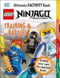 Lego Ninjago Training & Battles Ultimate Factivity Book by Emma Grange,  Paperback, 9780241482148