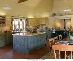 yellow country kitchens.  Country Kitchen Island Units Lighting Fixed Stock Photos L Inside Yellow Country Kitchens N