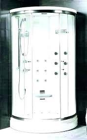 rounded shower enclosures rounded shower enclosures shower shower enclosures round shower stall home depot corner shower