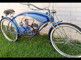 custom built stretch motorized cruiser bicycle youtube
