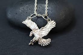 sterling silver eagle necklace american eagle necklace sterling silver american eagle eagle pendant sterling silver eagle jewelry