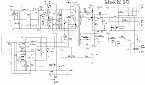 dell atx smps switch mode power supply circuit schema png computer power supply circuit diagram € the wiring diagram 2372 x 1396