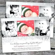 Sibling Birth Announcement Christmas Birth Announcements Holiday Announcement Wording Sibling