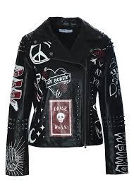 punk af faux leather jacket