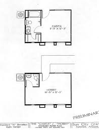 guest house floor plans. Del Webb Sun City Grand Casita Guest House Floor Plan Model Home Plans Floorplans Models