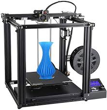 Comgrow <b>Creality Ender 5</b> 3D Printer, Stable Cubic Design and ...