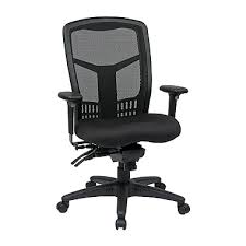 office chair controls. Pro-Line ProGrid Back High Chair With Adjustable Arms, Seat Slider, Multi Office Controls H