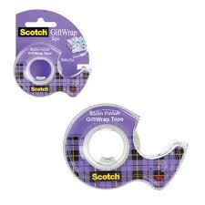 <b>Клейкая лента</b> 19 мм х 7,5 м, полуматовая, для <b>упаковки</b> подарков ...