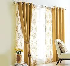 glass door curtains s sliding target curtain rod size