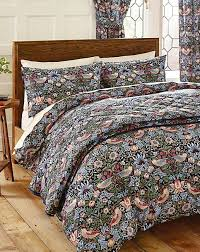 william morris strawberry thief duvet cover set