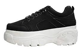 LUCKY-STEP Womens Chunky Sneakers - Athletic ... - Amazon.com