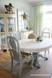 dining room table and chairs makeover