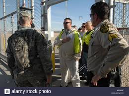 Arizona Correctional Officer Soldiers From The Arizona National Guards 855th Military Police