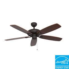 sahara fans charleston 52 in bronze energy star ceiling fan