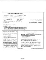 - Card Liability Texas Insurance