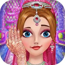 indian bridal fashion wedding makeover game