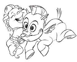 Pegasus Coloring Pages Baby And Baby Coloring Pages Realistic