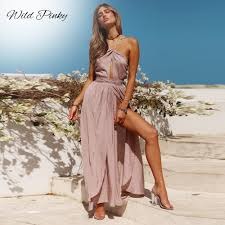 wildpinky womens summer dresses hollow out white lace mini party sexy club backless casual vintage beach sun dress boho