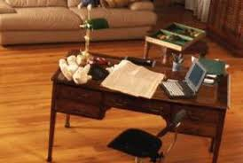 office room pictures. A Monochromatic Palette Ties The Office And Living Areas Together. Room Pictures O