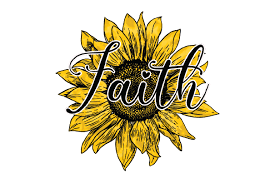 Weekly free svg cut file diy craft inspirations & videos 👇🏼✨click this link for more✨👇🏼 smart.bio/freesvgcaluyadesign. Faith Sunflower Sublimation Design Graphic By Fauzideastudio Creative Fabrica