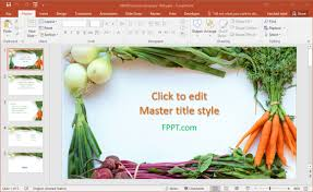 Free Food Powerpoint Templates Free Healthy Food Powerpoint Templates