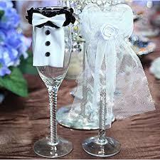 party decoration bride groom tux bridal veil wedding party toasting wine glasses decor birthday party decorations items birthday party decorations