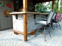 custom outdoor bars and grills custom
