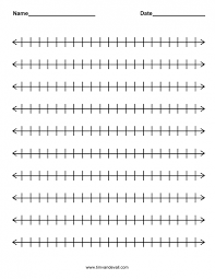 Math : Addition With Number Line Worksheet Rounding Decimals ...