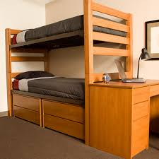 image of college loft bed xl twin