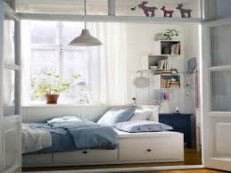 small bedroom ideas with queen bed. Outstanding Wonderful White Blue Wood Glass Modern Design Small Bedroom Ideas With Full Bed Remarkable Cream Queen B