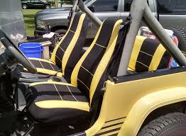 neoprene seat covers jeep wrangler