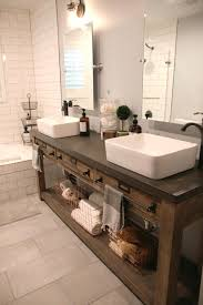 bathroom vanities bowl sinks. Bathroom Vanity Bowl Sink Remodel Restoration Hardware Hack Mercantile Console Simple Table Hacked Into A Double Vanities Sinks N