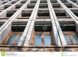 office facade design. building communist design facade office e