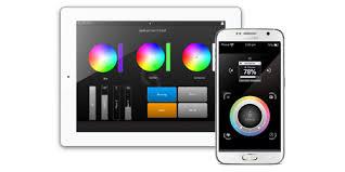 smartphone controlled lighting. lighting remote designer for tablets and smartphones smartphone controlled g