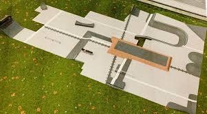 Backyard Skatepark Designs Sturtevant Skate Park Construction Could Start This Year